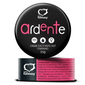 Ardente Creme Excitante Hot 3,5g Sexy Fantasy
