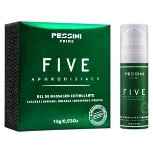 Five Aphrodisiacs 15g Pessini