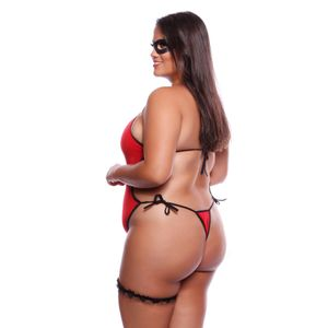 Fantasia Body Mulher Incrivel Plus Size Mil Toques