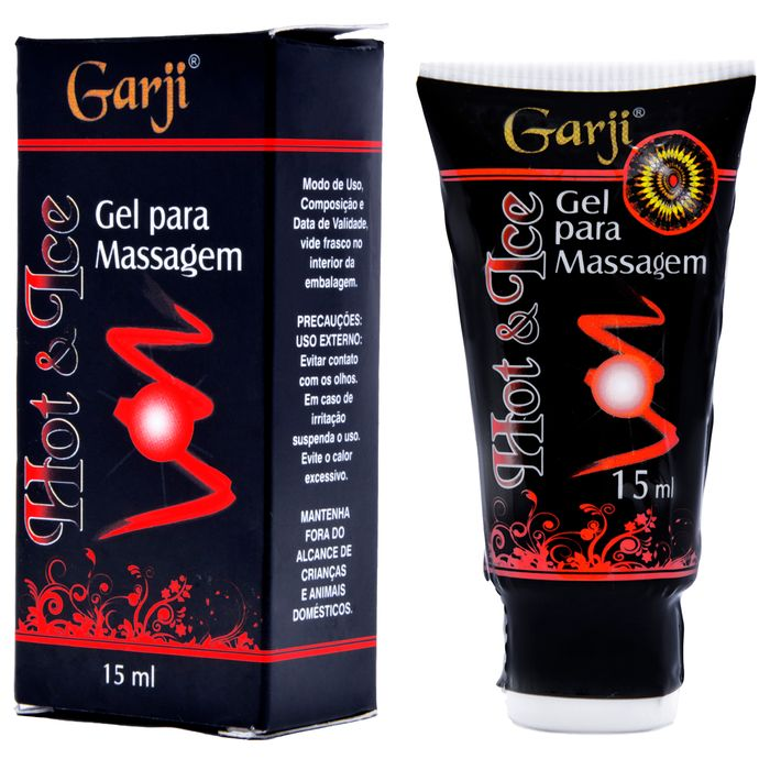 Gel Funcional Hot Ice 15ml Garji