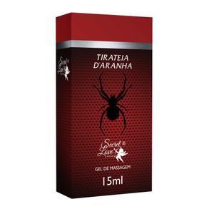 Tirateia D`aranha Gel Para Massagem 15ml Secret Love