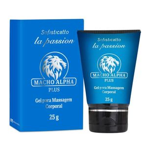 Macho Alpha Plus Gel Retardante Masculino 25g Sofisticatto