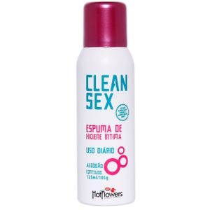 Clean Sex Espuma De Higiene íntima 125ml Hotflowers