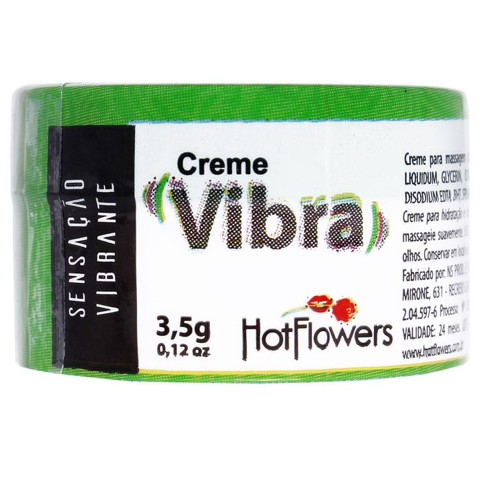 Vibra Creme Excitante 3,5g Hot Flowers