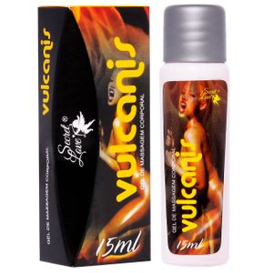 Vulcanis Gel De Massagem 15ml Secret Love