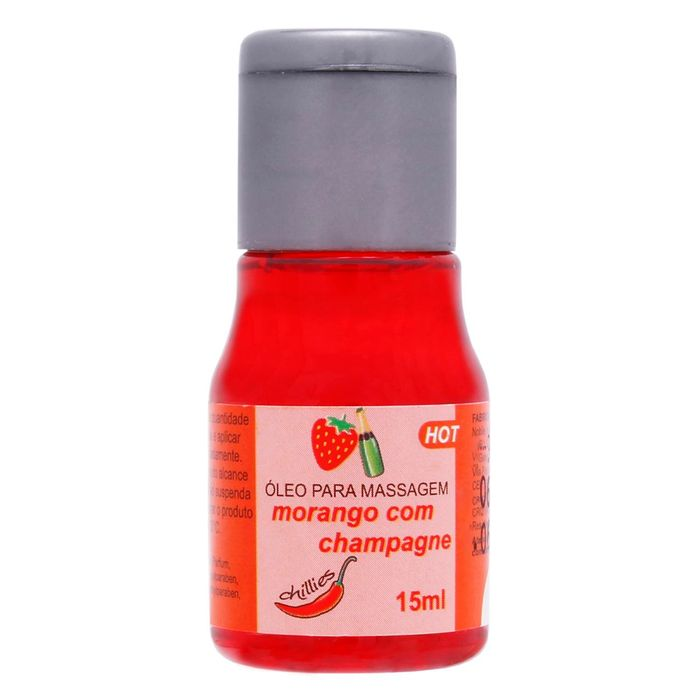 Gel Comestivel Hot 15ml Chillies