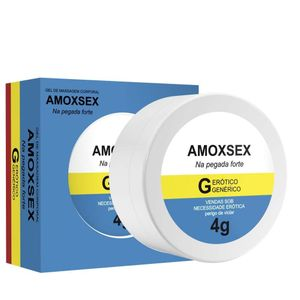 Amoxsex Gel De Massagem 4g Secret Love