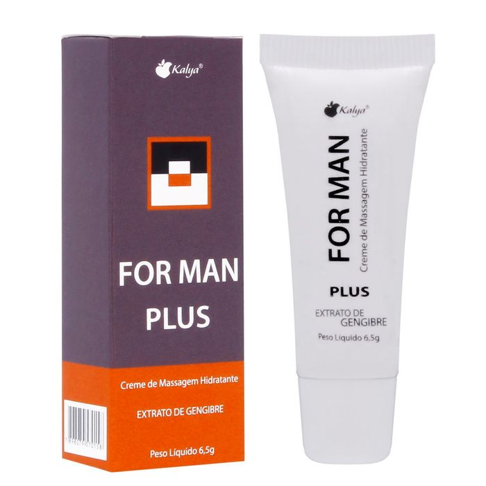For Man Plus Prolongador Masculino 6,5g Kalya
