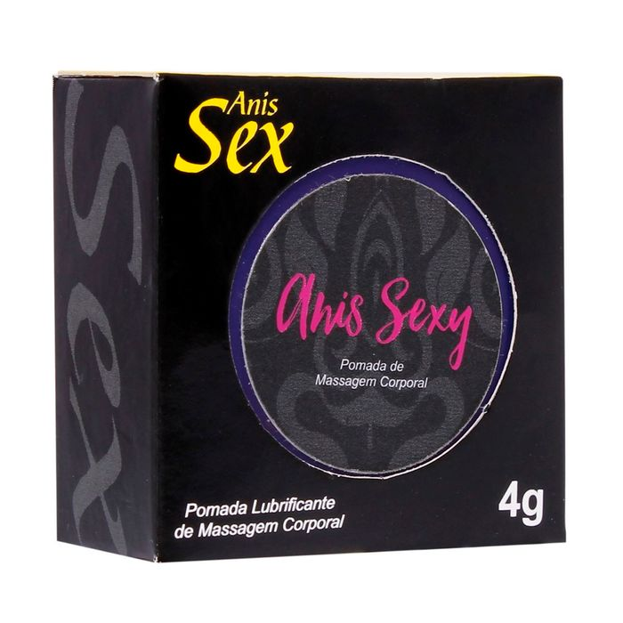 Anis Sexy Gel Facilitador Anal 4g Secret Love