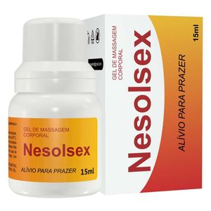 Nesolsex Gel Para Massagem 15ml Secret Love
