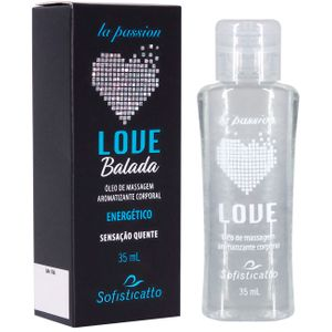 Gel Beijável Corporal Love Balada 35ml Sofisticatto
