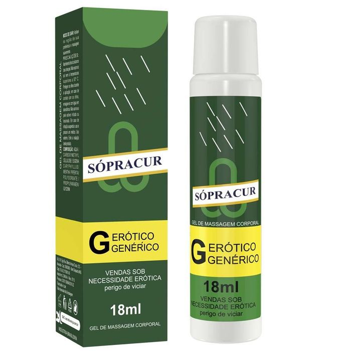 Sópracur Gel Para Massagem 18 Ml
