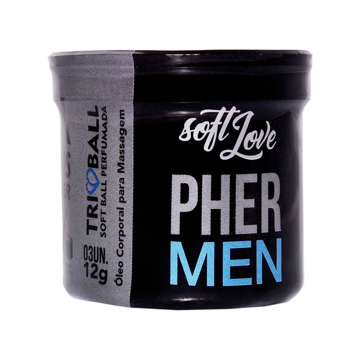 Triball Pher Men 3 Unidades 12g Soft Love