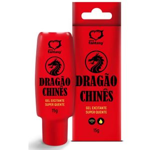 Dragão Chinês Gel Excitante Unisex 15g Sexy Fantasy