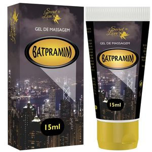 Batpramin Lubrificante Siliconado 15ml Secret Love