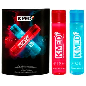 K-med Kit Gel Lubrificante íntimo Fire Ice 40g Cimed
