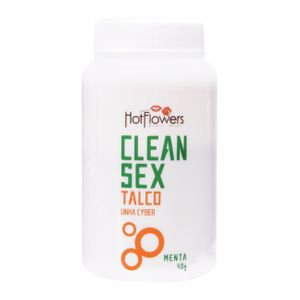 Clean Sex Talco 40g Hot Flowers