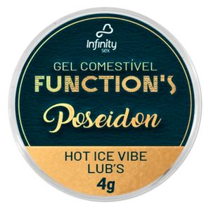 Lub's Poseidon Hot Ice Vibe Function's 4g Infinity Sex