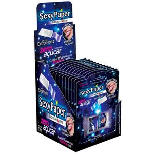 Pack Sexy Paper Lâmina Oral Extra Forte 12 Unidades