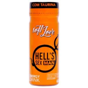 Hell's Sex Man Energetico 60ml Soft Love