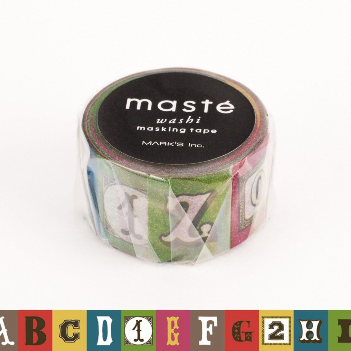WASHI TAPE MASTÉ ALPHABET