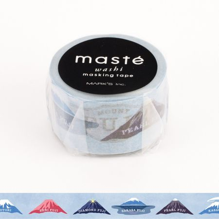 WASHI TAPE MASTÉ MT. FUJI