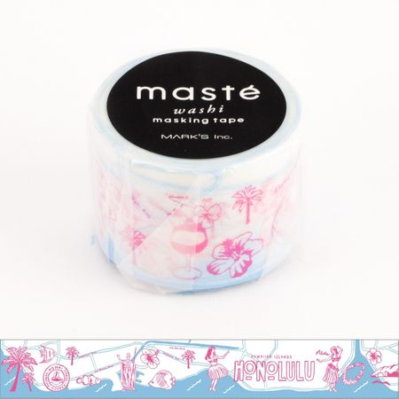 WASHI TAPE MASTÉ HONOLULU