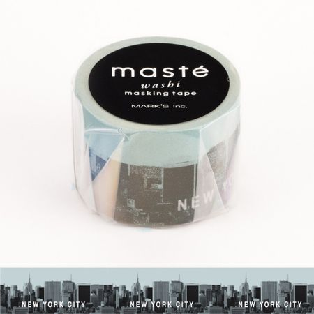 WASHI TAPE MASTÉ NEW YORK