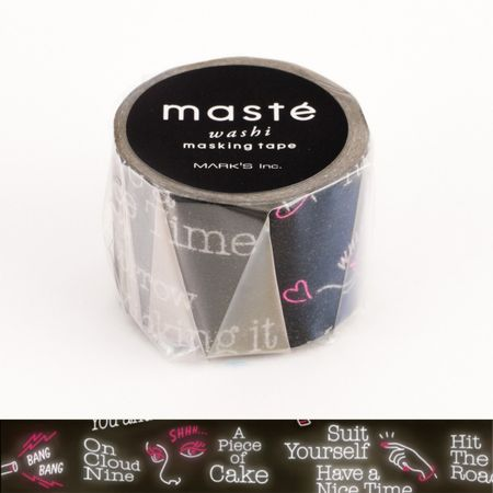 WASHI TAPE MASTÉ NEON SIGN
