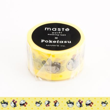 WASHI TAPE MASTÉ POKEFASU AMARELA