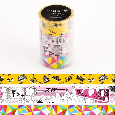 WASHI TAPE MASTÉ JAPAN 1 (KIT C/ 3)