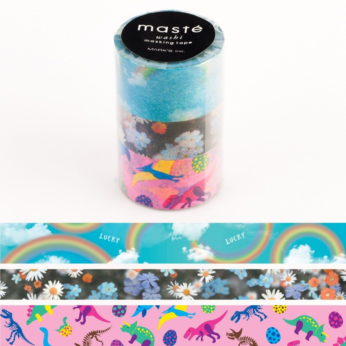 WASHI TAPE MASTÉ NATURE 3 (KIT C/ 3)