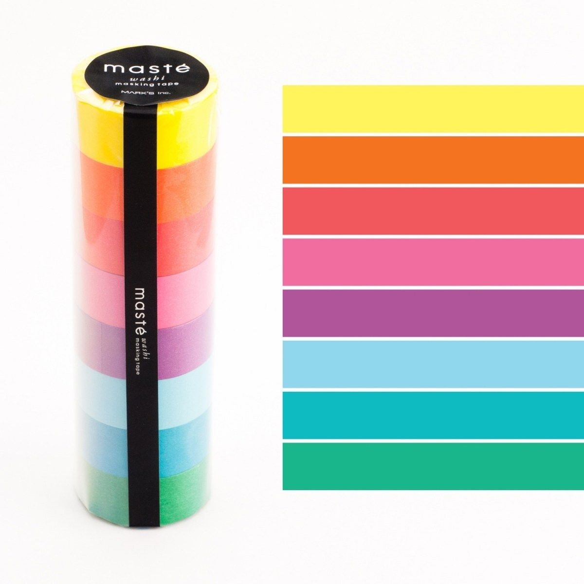 WASHI TAPE MASTÉ COLOR MIX (KIT C/ 8)