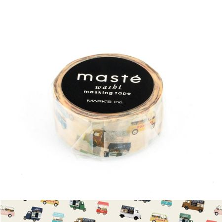 WASHI TAPE MASTÉ WAGON SHOP