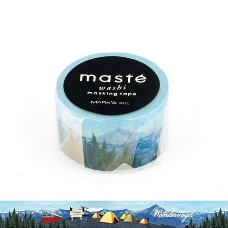 WASHI TAPE MASTÉ MOUTAIN