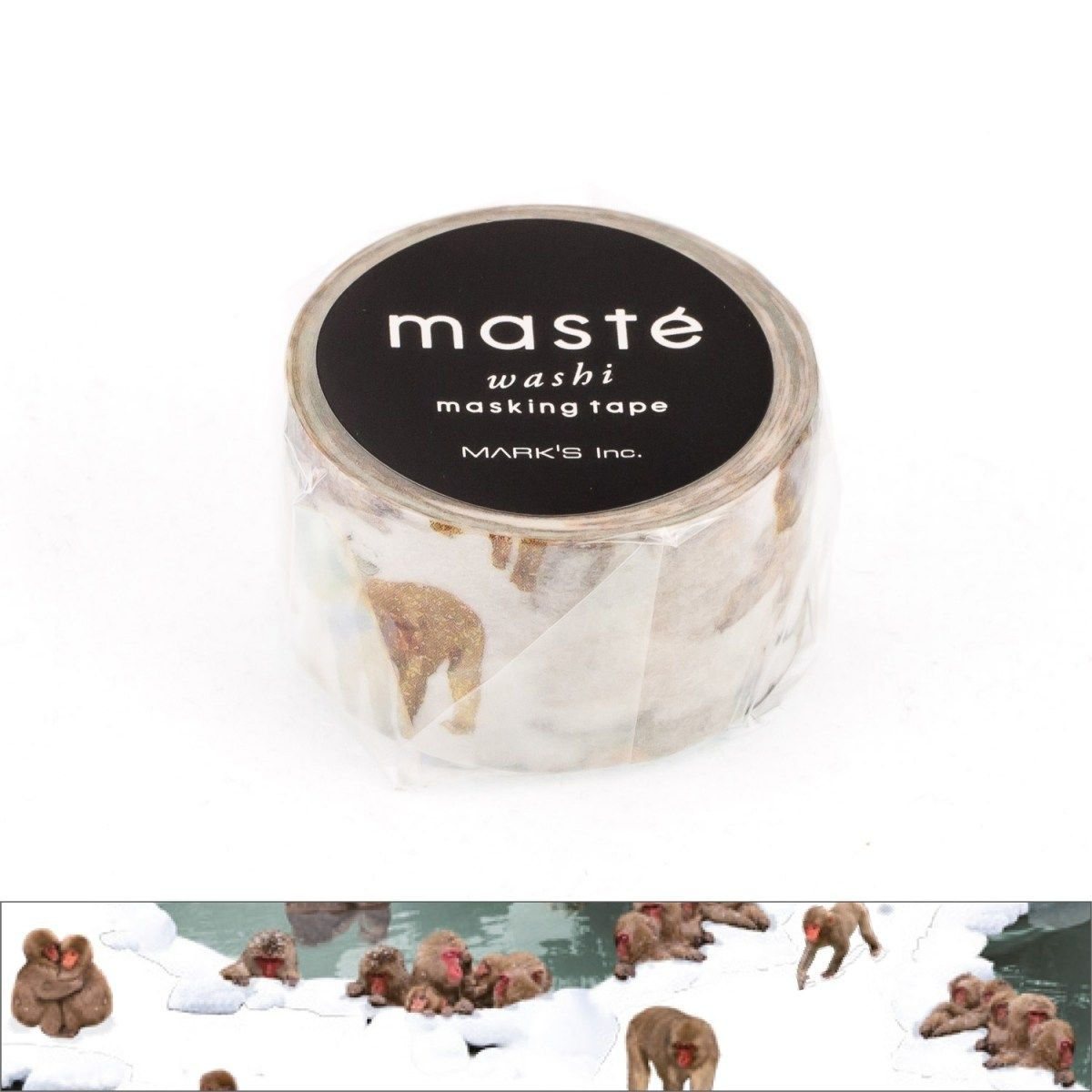 WASHI TAPE MASTÉ MONKEY HOT SPRING