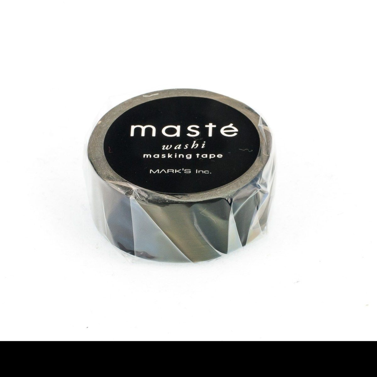 WASHI TAPE MASTÉ MATTE BLACK