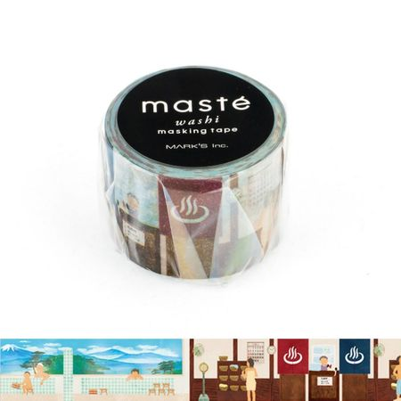WASHI TAPE MASTÉ PUBLIC BATH