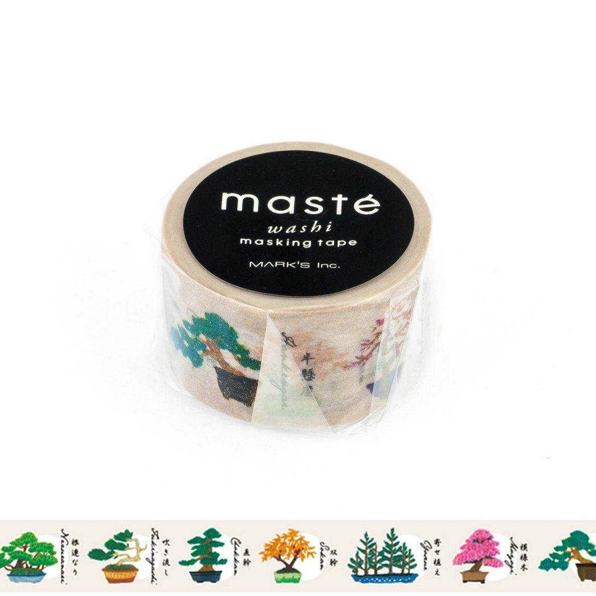 WASHI TAPE MASTÉ BONSAI