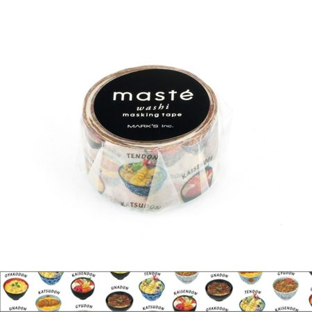 WASHI TAPE MASTÉ DONBURI