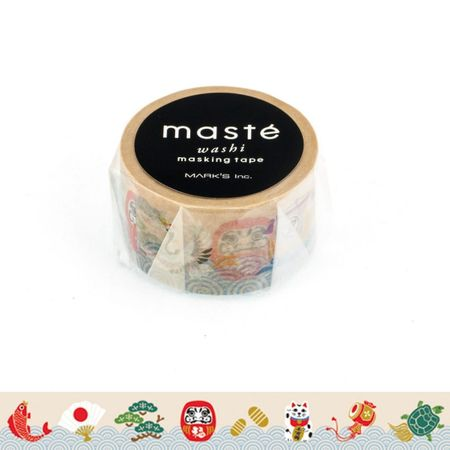 WASHI TAPE MASTÉ LUCKY CHARM