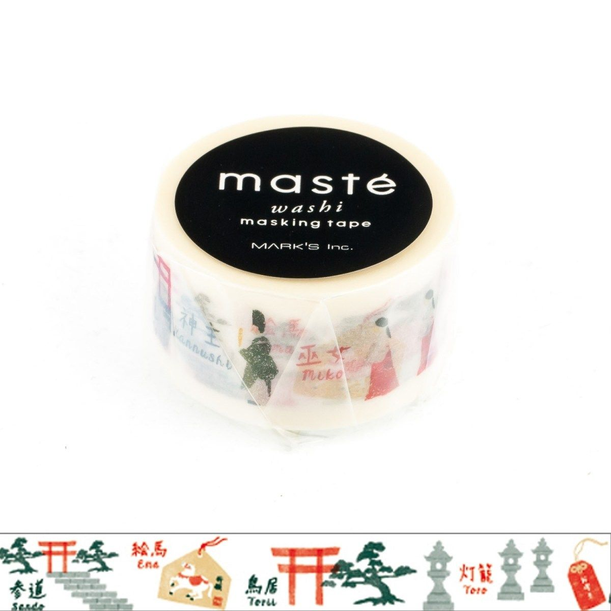 WASHI TAPE MASTÉ SHRINE