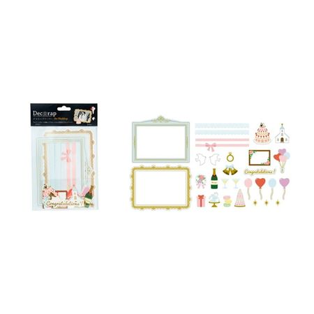 DECORAP KIT DE PAPEL DECORATIVO CASAMENTO