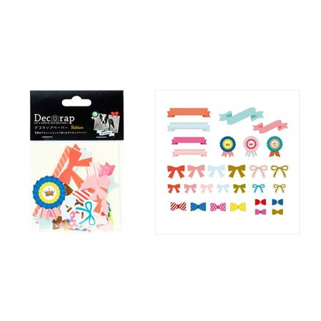 DECORAP KIT DE PAPEL DECORATIVO LAÇOS