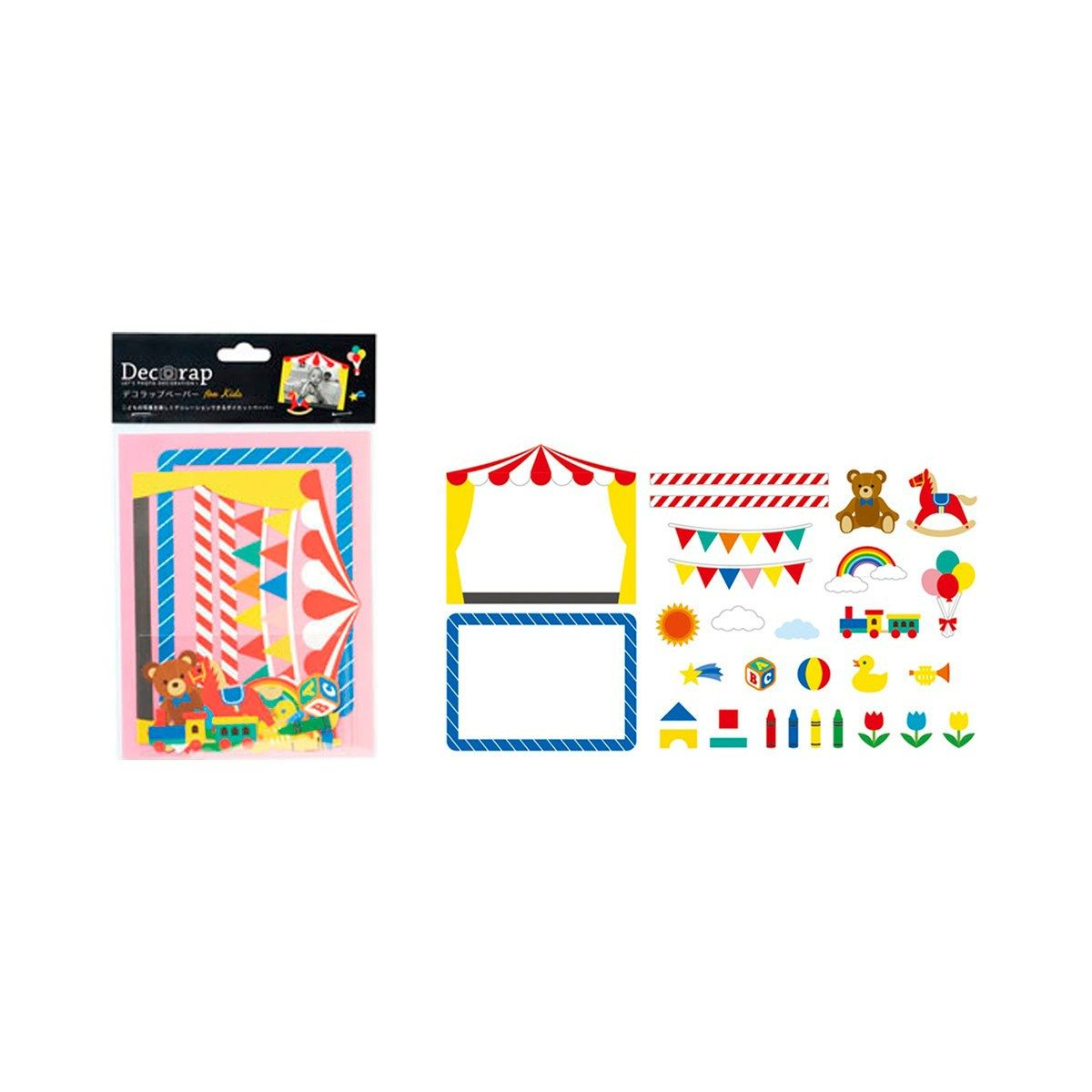 DECORAP KIT DE PAPEL DECORATIVO INFANTIL