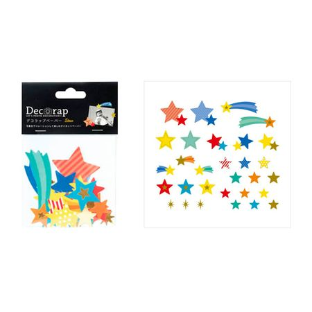 DECORAP KIT DE PAPEL DECORATIVO ESTRELAS
