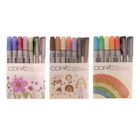 KIT COPIC CIAO DOODLE 7 UNIDADES