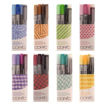 KIT COPIC CIAO DOODLE PACK 4 UNIDADES