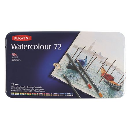 Kit Watercolour c/ 72 cores