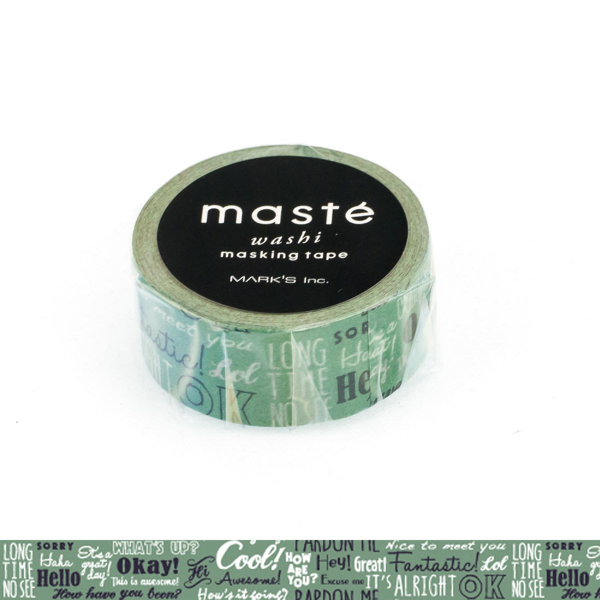 WASHI TAPE MASTÉ AMAZING LIFE/GREETING